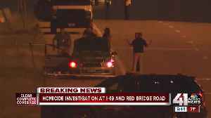 Man's death near Hwy 71, Red Bridge investigated as homicide [Video]