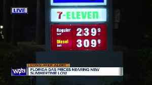 Gas prices near summertime low, says AAA [Video]