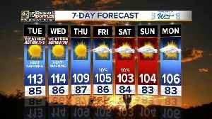 Record heat on the way!! [Video]