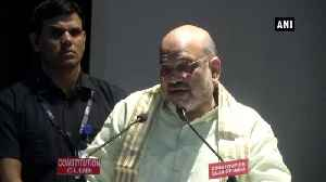 Congress has no shame, protested Triple Talaq Bill for vote bank Amit Shah [Video]