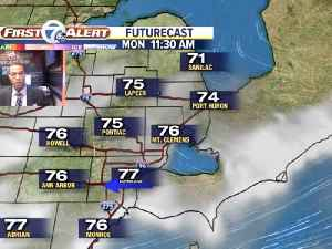 Rain ends with fog possible [Video]