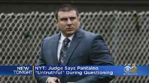 Report: Judge Says Eric Garner Cop 'Untruthful' During Questioning [Video]