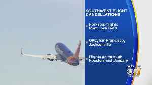 Southwest Airlines To End Nonstop Flights From Love Field To OKC, San Francisco And Jacksonville [Video]