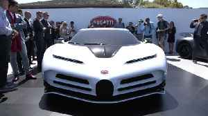 News video: Bugatti Centodieci – Exclusive small series in extraordinary design