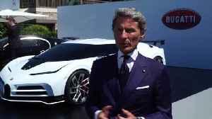 The new Bugatti Centodieci - Stephan Winkelmann Bugatti President [Video]