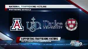 UA partnering with other law schools to support human trafficking survivors [Video]
