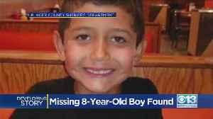 Missing Granite Bay Boy Found [Video]
