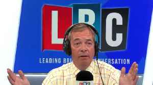'Are You Deluded?' Nigel Farage's Furious Row With Caller Over No-Deal [Video]