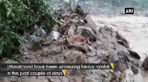 News video: Rescue operations underway in Uttarkashi Mori tehsil following cloudburst in area