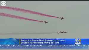 UK's Royal Air Force Aerobatic Team To Fly Over Boston Monday [Video]