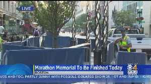 Boston Marathon Bombings Memorial To Be Finished Monday [Video]