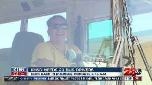 Kern Back In Business: KHSD is looking for 20 new school bus drivers [Video]
