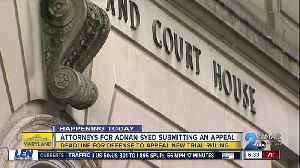 Attorneys for Adnan Syed submitting an appeal for new trial ruling [Video]