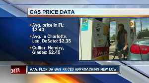 AAA: Florida gas prices push new summertime low [Video]