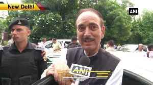 Nobody is happy in JK govt should take its decision back Ghulam Nabi Azad [Video]
