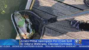 Cleanup Continues In Indiana After Waterway Chemical Spill [Video]