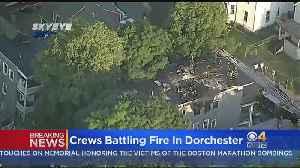 Fire Rips Through Dorchester Home [Video]