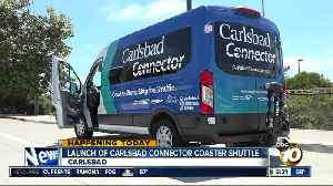 New shuttle service to connect commuters to different parts of Carlsbad [Video]