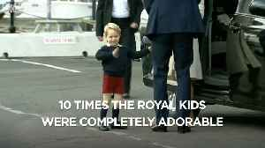 10 time the royal kids were completely adorable [Video]