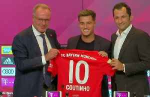 Bayern Munich sign Coutinho on loan from Barcelona [Video]