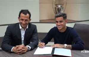 Coutinho signs for Bayern Munich on loan [Video]