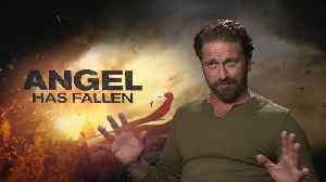 'Angel Has Fallen': Exclusive Interview With Gerard Butler [Video]