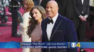 Dwayne 'The Rock' Johnson Marries Lynnfield's Lauren Hashian [Video]