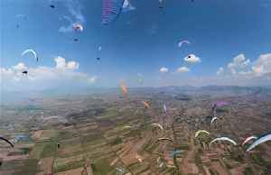 FAI World Paragliding champions crowned after spectacular event in North Macedonia [Video]