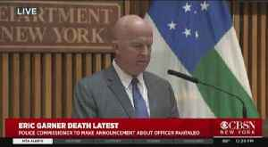 Police Commissioner Announces Officer Daniel Pantaleo Fired [Video]