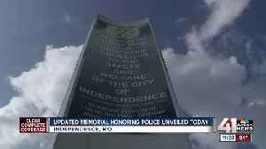 Rotary Club of Independence rededicates police memorial [Video]