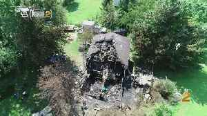 Drone Shows Damage From Deadly Plane Crash [Video]