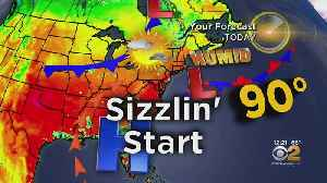 New York Weather: Heat Wave Potential [Video]