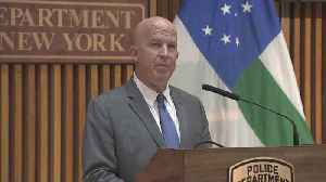 News video: NYPD Commissioner: Officer Daniel Pantaleo Fired Over Eric Garner Improper Chokehold