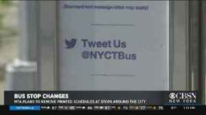MTA To Go With Paperless Bus Schedules [Video]