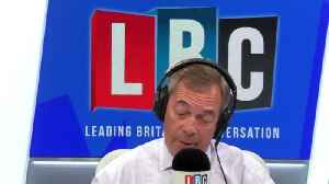 Nigel Farage Reveals Exactly What Was Behind His Comments Last Week [Video]
