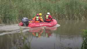 Volunteers from 'far and wide' helping in river search for missing six-year-old [Video]