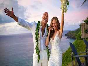 Dwayne 'The Rock' Johnson marries longtime girlfriend in secret ceremony [Video]