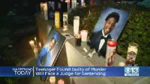 Teenager Found Guilty Of Murder Will Face Judge For Sentencing [Video]