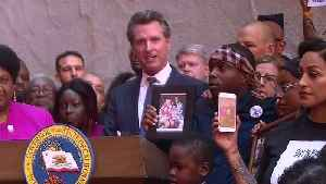 Raw Video: Newsom Signs Bill Changing Police Use Of Force Standards [Video]