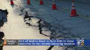 Penn Hills, Nadine Rd. Closed [Video]