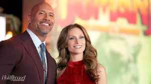Dwayne Johnson Marries Longtime Girlfriend Lauren Hashian | THR News [Video]