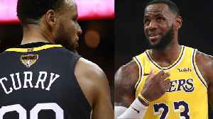 News video: NBA Rookies Don't Like Steph Curry AT ALL, Vote Lebron James Their Favorite Player!