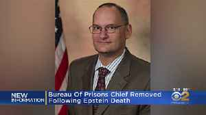 News video: Bureau Of Prisons Chief Removed Following Epstein Death