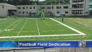 New Football Field Dedication In Mckees Rocks [Video]