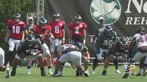 Eagles Welcome Ravens For Two Days Of Joint Practices [Video]