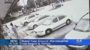 Stand Your Ground' Manslaughter Trial Gets Underway In Killing Over Handicap Parking Spot [Video]