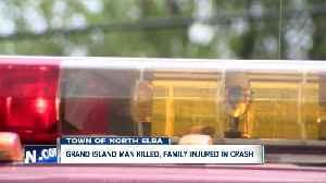 Community 'grief-stricken' by death of Grand Island man after crash [Video]