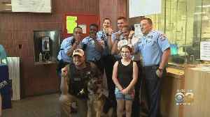 Lebanon County Girl Drops Off Special Bracelets For Philadelphia Police Officers [Video]
