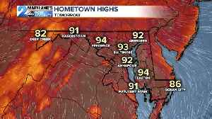 More High Heat and Storm Chances [Video]