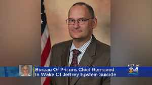US Prisons Chief Removed From Position In Wake Of Jeffrey Epstein Suicide [Video]